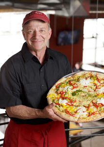 Mark Starr, David's Pizza   Young Kawk Photo